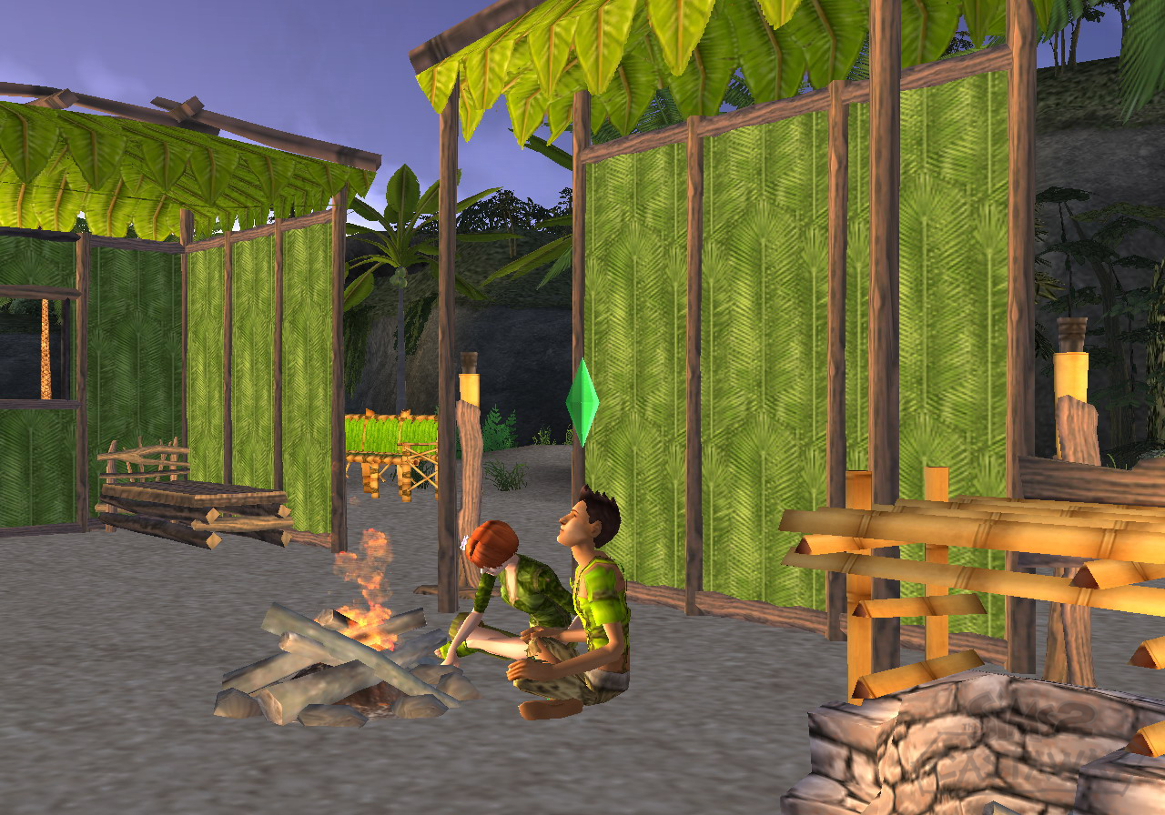 Jugar a Los Sims 2: Historias de náufragos