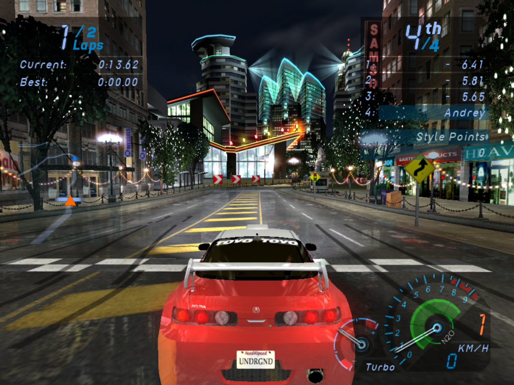 Need For Speed Underground 2 Gamesave