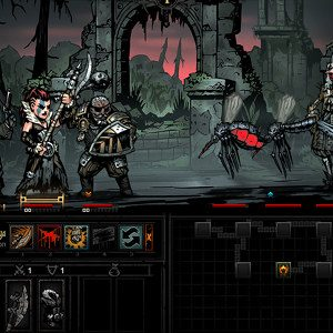 Darkest Dungeon's vampy expansion drips to June 19th