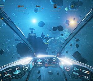 Everspace blasts out of early access blaring rock music