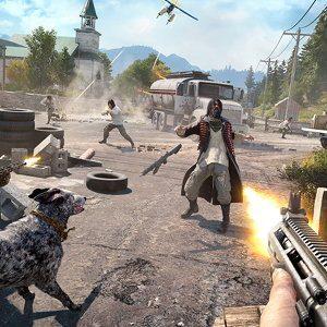 Far Cry 5's E3 trailer shows yup, it is still goofy fun
