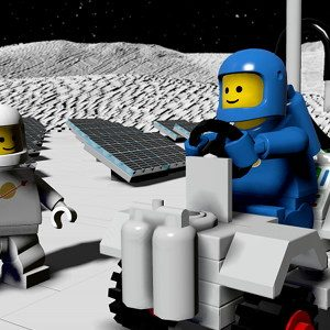 LEGO Worlds blasting off to vintage Space in first DLC