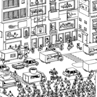 Here's an illustrated walkthrough of how Hidden Folks was made