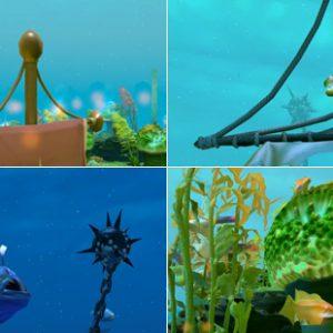 Dota 2's underwater terrain has some gorgeous wildlife!