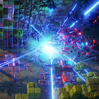 Chat with the developer of twin-stick shooter Nex Machina today at 1PM EDT