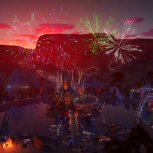 Summer brings fireworks and more to Planet Coaster