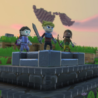 Blending action RPG and Minecraft-style sandbox in Portal Knights